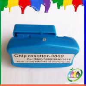 Quality 9 color inkjet printer chip resetter for Epson Pro3800 Pro38580 Pro3850 Pro3885 for sale