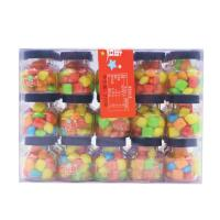 Quality Lucky Chewing Gum Colorful crispy chewing candy packed in jar for sale