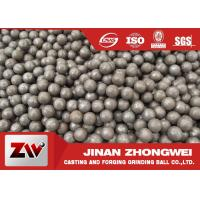 Quality Hot rolling B2 matrial  SAG mill grinding balls for Cement Plant for sale