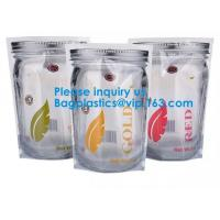 Quality Jar Shaped Pouches, Round Bottom Plastic Bag/Stand Up Pouch Bag For Meat,Pork,Beef,Sea Food, Bagease, Bagplastics for sale