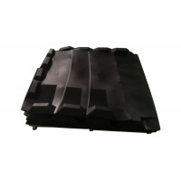Quality Supply the baggage handling system & Incline rubber slat for sale