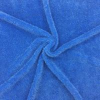 Quality Microfiber Twist Pile Fabric 450gsm Blue Mop Fabric Cleaning Fabric for sale