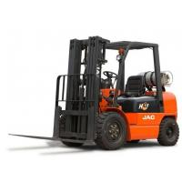 China 1.8 T JAC Brand LPG Forklift / Used Forklift Trucks With 3000 Mast Lifting Height on sale