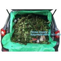 Quality customized waterproof green pe car protector,environmental firendly, car boot liner, reusable, durable,economical,sample for sale