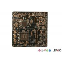 Quality Four Layers OSP Black PCB Board  , Main PCB Board  For Security Monitor Device for sale