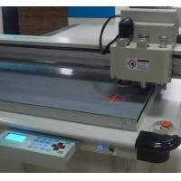 Quality Laser light location carton box sample maker cutting machine for sale