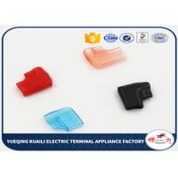 Quality Flexible Soft Pvc Insulated Terminal Sleeve Motorcycle Wring Caps For SURE Plug for sale