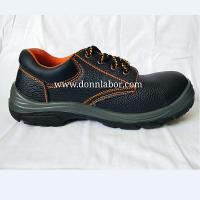 China Wholesale Unisex Standard Water Resistant Leather Shoes Labor Hiking Shoes on sale