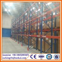 China Logistic equipment display rack /warehouse racking system on sale