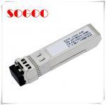Quality 10G 80km SFP Optical Module CWDM 1470nm~1610nm 10G Duplex LC Connector for sale