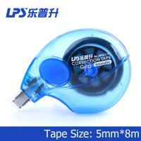 Buy Non Refillable Colorful Blue Correction Tape Item Side Way Correction Tape No W9617 at wholesale prices