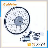 China 36V 800w / 48v 1000w Ebike Conversion Kits Front Aluminum Alloy Stator Silver Motor Wheel on sale