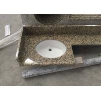 China Stone granite Golden Leaf countertops kitchen top vanity table top on sale