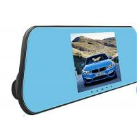 Quality Car Driving Rear View Mirror Camera Recorder / Vehicle DVR Camera 1080P for sale
