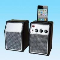 China Computer Speakers with Stand Cavity for Apple's iPod/MP3 Players, FCC Certified on sale