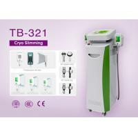 Quality Five Handle Cryo Slimming Machine for Cellulite Reduce / Fat Freezing / RF Face Lifting for sale