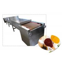 Quality High Speed Microwave Cardamom Drying Machine With Humidity Discharging System for sale
