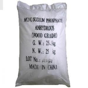 Quality Monosodium Phosphate (MSP) CAS 7558-80-7 Grade 98% for sale