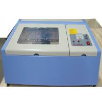 Quality Mini Portable Acrylic CO2 Laser Engraving Machine 40 Watt With Advanced Positioning System for sale