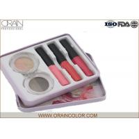 Women Makeup Kit in Tin Box , Makeup Eyeshadow Palette and Lip Gloss Combined