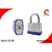 Buy Laminated Padlock With Rubber Protection Lock for Industry Factory Fence Fence at wholesale prices