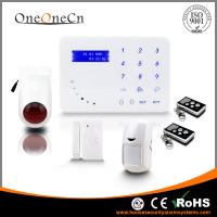 Quality Intelligent Touch Keypad GSM Wireless Security Alarm System With Tamper Alarm APP for sale