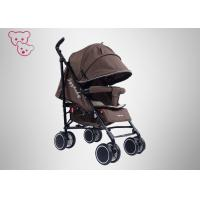 Quality Super Lightweight  Baby Umbrella Stroller Rotatable Seat Stable Tires With Big Basket for sale