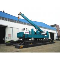 Quality ZYC460 Hydraulic Static Pile Driver , Pile Drilling Equipment 16T Crane for sale