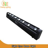 Eight eyes linear stage light 80w led beam light wholesale multi color led light bar