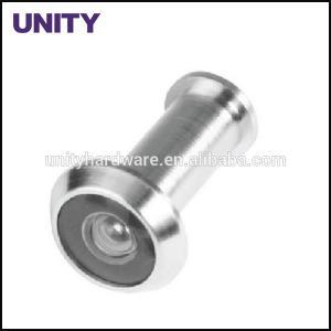 China Brass Door Viewer Door Accessories Adjustable length with Glass Lense for Fire Door on sale