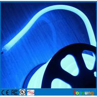 Quality 16mm 360 degree round led neon tube blue flexible decoration lights 24V for sale