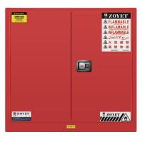 Buy cheap Safety Combustible Storage Cabinets , Flammable Storage Containers Double Doors from wholesalers