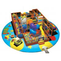 Quality Children Indoor Playground Equipments with Swing Ball and Slide A-09303 for sale