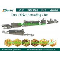 Quality Double screw extruder Corn Flakes Processing Line / equipment / machinery for sale