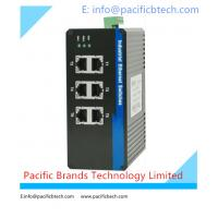 Buy cheap 10/100/1000M Unmanaged Industrial Ethernet Switches from Wholesalers