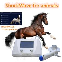 China Veterinary Equine Shockwave Machine Equipment For Dogs / Horses White Color on sale