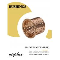 Quality FB090 & 092 Tin Bronze Slide Bearing Oilless Bronze Bushing for sale