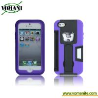 Quality PC+silicone case for iphone5, with bottle opener style for sale