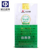 Quality Green Color Poly Feed Sacks Agricultural Bags 38cm - 80cm Width Custom Printing for sale