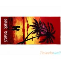 Buy cheap Printed Bath Towel Lint Free Ultra Soft  Drying fast Super Absorbent from Wholesalers