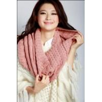 Quality Acrylic Knitted Shawl (12-BR-201712-2.3) for sale