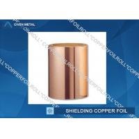 Quality ED Copper Shielding Foil Maximum Width 1290mm pure copper foil rolls for sale