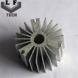 Quality Round High Precision Forging Aluminum Heat Sinks 110 Diameter For LED PCB COB for sale