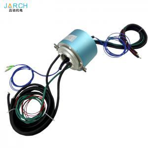 Quality 2 channels fiber optical rotary joint forj Electro Optical Slip Ring for encoder servo motor signal line for sale