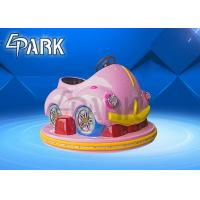 Quality Amusement Park Kids Bumper Car Racing Ride With Remote Control Operation for sale