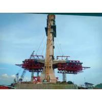 China Bridge Construction Steel Formwork System Concrete Casting Form Recyclable Type on sale