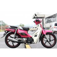 Quality Pink Color Super Cub Motorcycle 107mL Displacement With EEC Certification for sale