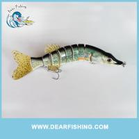 Quality Musky Piking fishing lure swimbait for sale