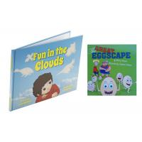 Quality CMYK Full Color Childrens Book Printing Case Bound With Section Sewn for sale