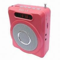 Quality Amplifier with PA Speaker Including FM and Recording Functions, Supports SD Card for sale